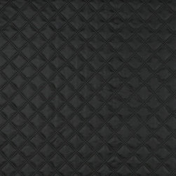 Matte Diamonds Upholstery Faux Leather By The Yard - This faux leather material is great for all indoor upholstery applications including residential and commercial. This pattern is uniquely made to combine luxury with durability. Our faux leathers are stain resistant, and easy to clean with mild soap and water.