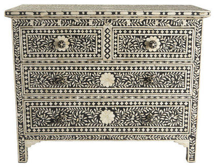 Traditional Accent Chests And Cabinets by Wisteria