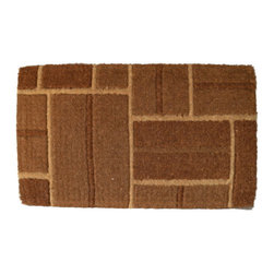 Imports D̩cor - Yellow Brick Door Mat (ID692TCM) - Yellow Brick