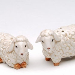 ATD - 1.75 Inch Standing and Sitting Mini Lamb Salt and Pepper Shaker Set - This gorgeous 1.75 Inch Standing and Sitting Mini Lamb Salt and Pepper Shaker Set has the finest details and highest quality you will find anywhere! 1.75 Inch Standing and Sitting Mini Lamb Salt and Pepper Shaker Set is truly remarkable.