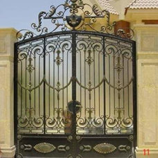 traditional front doors by United Global Suppliers Egypt