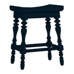 Stanley Furniture - Coastal Living Cottage-5 O'Clock Somewhere Counter Stool - Island-inspired attitude with details like double-lathed legs, arched seat, and foot rest make this stool anything but ordinary.