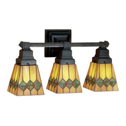 Stained Glass Vanity Light Fixtures : Stained Glass Lighting Fixture Bathroom Vanity Lighting: Find Bathroom Light Fixtures Online