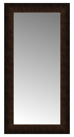 """Posters 2 Prints, LLC - 15"""" x 28"""" Dark Copper Custom Framed Mirror - 15"""" x 28"""" Custom Framed Mirror made by Posters 2 Prints. Standard glass with unrivaled selection of crafted mirror frames.  Protected with category II safety backing to keep glass fragments together should the mirror be accidentally broken.  Safe arrival guaranteed.  Made in the United States of America"""
