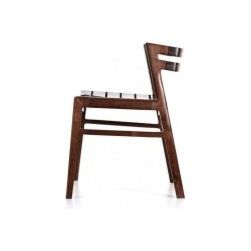 EcoFirstArt - Atomic Chair - Bundle of energy. This beautifully crafted chair is stunning in its simplicity. It has a kinetic sensibility that engages your eyes. Its modern, architectural lines allow you to place it just about anywhere in your home, from the office to the dining table.