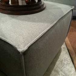 OTTOMANS and POOFS Modern, Contemporary, Mid-century, Transitional -