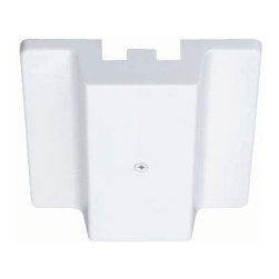 Juno Lighting - Juno R29 Trac-Lites Floating Electrical Feed - Trac-Lites floating electrical feed. Permits mounting at any point along track at outlet box.