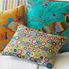 Eclectic Decorative Pillows by RSH
