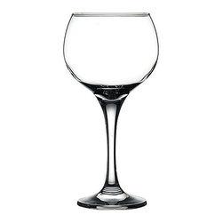 Hospitality Glass - 8.5H x 3.5T x 3.25B Maldive 18.75 oz Balloon Wine Glasses 12 Ct - Maldive 18.75 oz Balloon