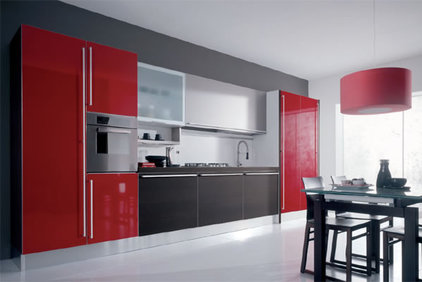 modern kitchen cabinets by European Cabinets &amp; Design Studios