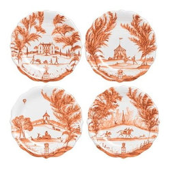 Country Estate Party Plate Set, Autumnal Traditions
