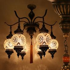 Mediterranean Ceiling Lighting by Hedef Aydınlatma