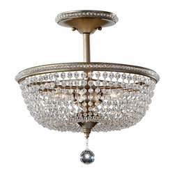 Murray Feiss - Murray Feiss Dutchess Traditional Semi Flush Mount Ceiling Light X-SUB103FS - Murray Feiss Dutchess Traditional Semi Flush Mount Ceiling Light X-SUB103FS