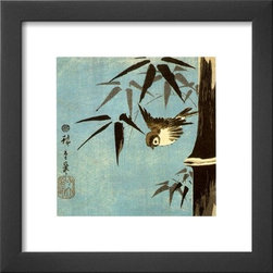 Artcom - Untitled by Ando Hiroshige - Untitled by Ando Hiroshige is a Framed Art Print set with a SOHO Thin wood frame.