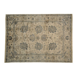 1800-Get-A-Rug - Oushak Bamboo Silk Vegetable Dyes Hand Knotted Oriental Rug Sh16910 - Oushak stands for the western Anatolian Turkish city, known for its rare collectible rugs made during the Ottoman Empire. Today we are recreating these historical carpets, in the centuries-old hand weaving techniques, the same fantastic designs in a variety of colors to fit today's decor and taste using natural dyes and hand spun wool. Ziegler stands for Ziegler and company, German based oriental rug importer which operated between 1880-1920. They originally produced and imported these precious carpets in the Mahal region in Iran, specifing to the locals the German and European taste.