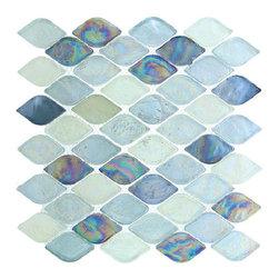 Aquatica glass tile mosaic, Atlantis -