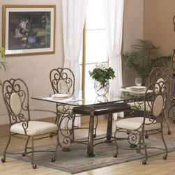 Alpine Furniture - Astoria 5 PC Dining Set - Astoria 5 PC Dining Set