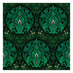 Design Your Wall - Eden, Shamrock - Wallpaper Tiles - Featured Designs by Astek Inc