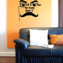 ColorfulHall Co., LTD - Decal Stickers Would Like To Stay Cool Wall Decals - Decal Stickers Would Like to Stay Cool Wall Decals