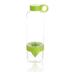 Citrus Zinger - Beyond the squeezer and the zester, this all-in-one juicer/container extracts citrus directly into the water bottle, infusing your on-the-go refreshment with zesty flavor, Vitamin C and flavonoids.