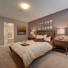 Transitional Bedroom by Look Master Builder