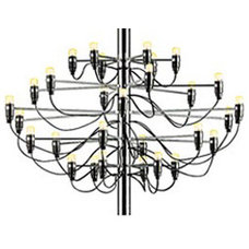 Contemporary Chandeliers by ddc nyc
