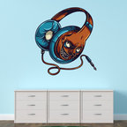 Monster Music Vinyl Wall Decal MonsterMusicUScolor004; 36 in. - Vinyl Wall Decals are an awesome way to bring a room to life!