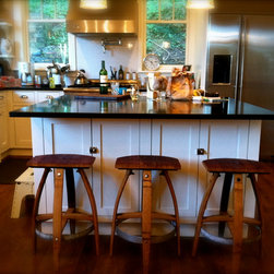 "Bar Stools & Chairs - Mother's L'il Helper. 25"" seat height."