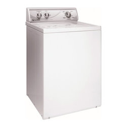 "Speed Queen - AWN412 26"" Top-Load Washer with 3.3 cu. ft. Capacity  8 Wash Cycles  2 Speeds  4 - The Speed Queen AWN412 33 Cu Ft stainless steel wash tub features 17 wash cycles to provide you with a huge variety of cleaning 2 speeds  430710 RPM spin speed and an automatic balancing system This washer will handle even the toughest stains and wil..."