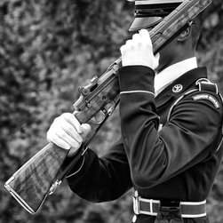 """Honor Guard, Tomb of the Unknown Soldier, Washington DC 12"""" X 16"""" Print - Honor Guard, Tomb of the Unknown Soldier, Washington DC"""