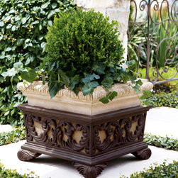 Square Planter with Stand -