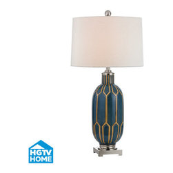 Dimond Lighting - Dimond Lighting HGTV351 Chopin 1 Light Table Lamp - Features: