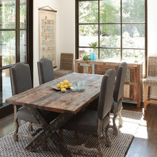 Eclectic Dining Room by Rupal Mamtani