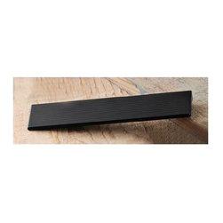 Hafele - 6.29 in. Zinc Handle in Anodized Matte Black - Matte Black