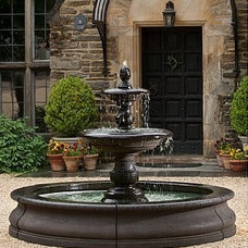 Outdoor Fountains And Ponds by Soothing Walls