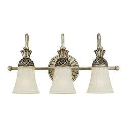 Sea Gull Lighting - Sea Gull Lighting 47252-824 Highlands Palladium 3 Light Vanity - Sea Gull Lighting 47252-758 Highlands Regal Bronze 3 Light Vanity