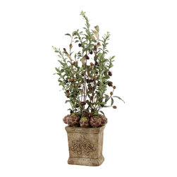 """60026 Peace and Hope Planter by Uttermost - Get 10% discount on your first order. Coupon code: """"houzz"""". Order today."""
