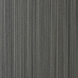 Walls Republic - Striate Grey Wallpaper S43699, Double Roll - Grey Striate is textured striped wallpaper in a monochromatic scheme. It will compliment a variety of different patterns and styles to create a unique and inspiring atmosphere.