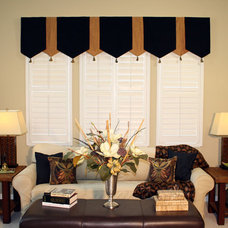 Contemporary Curtains Make that window pop!