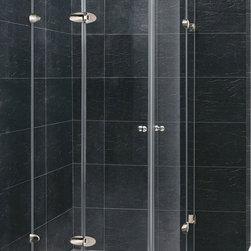 Vigo - Vigo 36 x 36 Frameless Neo-Round 1/4in.  Clear/Chrome Shower Enclosure - Vigo designs easy-to-install shower enclosures to enhance any bathroom and suit your needs