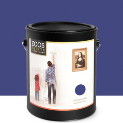 Imperial Paints - Exterior Semi-Gloss Paint, Midnight Blue - Overview: