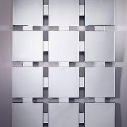 Homka Twelve Mirror - Deknudt Mirrors - This mirror consists of 12 square beveled mirrors