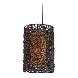 Modern Hand Waved Twine Pendant Lighting -