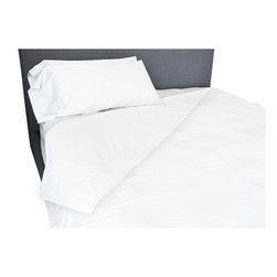 BrandWave - Sheet Set, White - Our 100% cotton sheets are made from the finest 350-thread count sateen. These sheets are unrivaled in their softness and durability. They will only get more comfortable with each wash.