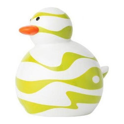 Boon - Odd Duck Bob - Not Your Average Rubber Ducky. Kids are all different shapes and sizes, shouldn't rubber ducks come that way too? Meet Slim, Bob, Jane and Squish. We're not trying to encourage a rubber ducky smackdown, but Odd Ducks are PVC-free, unlike those other mucky ducks. And ours do not hold water, so they won't grow that black mold that kids always try to suck out. Features: -Odd duck bob. -Ducks do not absorb water. -Individual or sets of four. -BpA-free, Phthalate-free and PVC-free. -Recommended age: All ages.