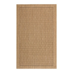 Safavieh - Ellen Natural Fiber Rug, Natural 3' X 5' - Construction Method: Power Loomed. Country of Origin: India. Care Instructions: Vacuum Regularly To Prevent Dust And Crumbs From Settling Into The Roots Of The Fibers. Avoid Direct And Continuous Exposure To Sunlight. Use Rug Protectors Under The Legs Of Heavy Furniture To Avoid Flattening Piles. Do Not Pull Loose Ends; Clip Them With Scissors To Remove. Turn Carpet Occasionally To Equalize Wear. Remove Spills Immediately. Sophisticated in pattern and rich in texture, subtly-colored Palm Beach rugs complement myriad decorating styles and palettes. Artfully loomed of sustainable sisal natural fiber, each design is inspired by nature and geometric forms: undulating stripes,