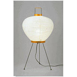 Noguchi 3A Table Lamp  By Akari Lamps - Considered Modern during the post war era. Isamu Noguchi created an icon in the 50's.