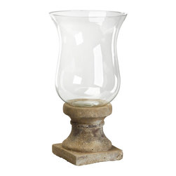 Zentique - Candle Holder - Medium - Nothing warms up a room quite like candlelight. Pick a small or medium size (or pair up one of each) and light your favorite candle in the bell-shaped glass jar. The flickering light will add a touch of romance to any room in your home.