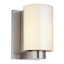 Sonneman Lighting - Sonneman Lighting 3782.13 Century Short Cylinder Modern / Contemporary Wall Scon - Sonneman Lighting 3782.13 Century Short Cylinder Modern / Contemporary Wall Sconce