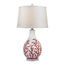 Dimond Lighting - Dimond Lighting D2479 Sixpenny 1 Light Table Lamp - Features: